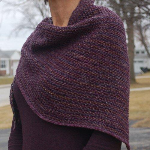 Tweed Shawl