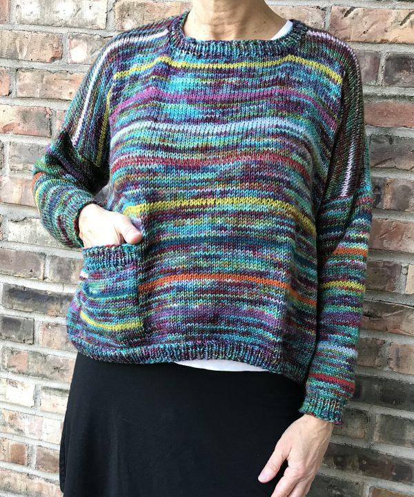 boxy pullover